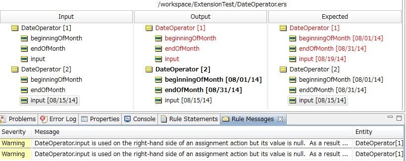 Ruletest: テスト対象がRulesheetである場合